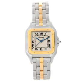 Cartier Panthere W25028B5 Stainless Steel & 18K Yellow Gold 26mm Unisex Watch