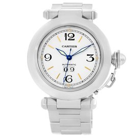Cartier Pasha C W31044M7 Stainless Steel Automatic 35mm Unisex Watch