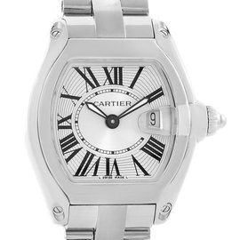 Cartier Roadster W62016V3 Stainless Steel 30mm Womens Watch