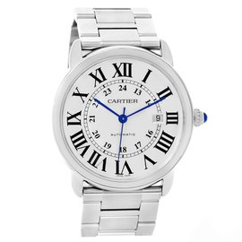 Cartier W6701011 Ronde Solo Stainless Steel Automatic 42mm Mens Watch