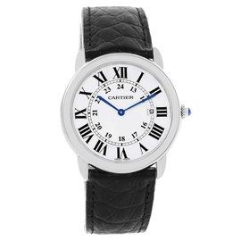 Cartier Ronde Solo W6700255 Stainless Steel Quartz 36mm Unisex Watch