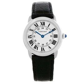 Cartier Ronde Solo W6700155 Stainless Steel Quartz 29mm Womens Watch