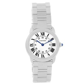 Cartier Ronde Solo W6701004 Stainless Steel Quartz 29mm Womens Watch