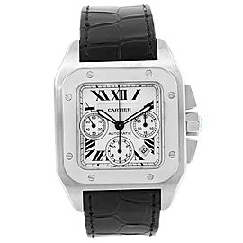 Cartier Santos W20090X8 Stainless Steel 42mm Mens Watch