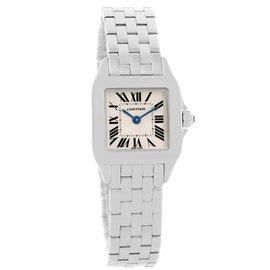 Cartier Santos W25064Z5 Demoiselle Stainless Steel 20mm Womens Watch