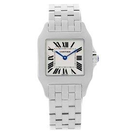 Cartier Santos Demoiselle W25065Z5 Stainless Steel Quartz 26mm Womens Watch