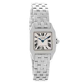 Cartier Santos Demoiselle W25064Z5 Stainless Steel & Silver Dial 22mm Womens Watch