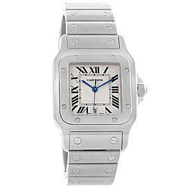 Cartier Santos Galbee W20060D6 Stainless Steel & Silver Dial 29mm Unisex Watch