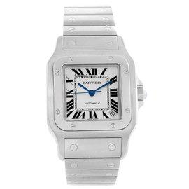 Cartier Santos Galbee XL W20098D6 Stainless Steel 32mm Mens Watch