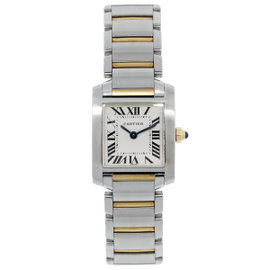 Cartier Tank Francaise 2384 Roman Dial Watch