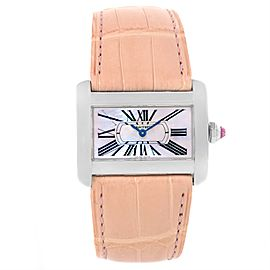 Cartier Tank Divan W6301455 Stainless Steel 25mm Womens Watch