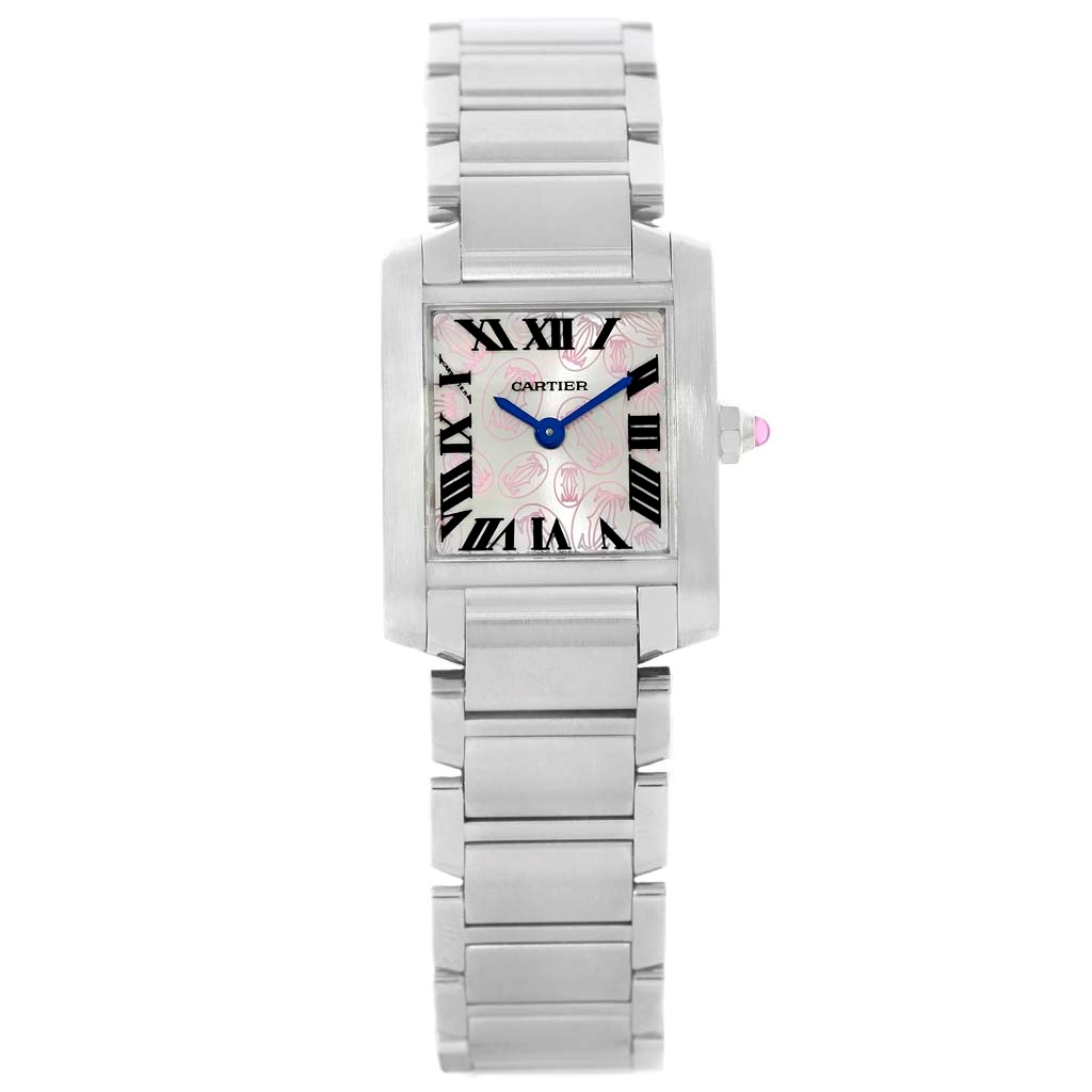 "Image of ""Cartier Tank Francaise W51031Q3 Stainless Steel & Silver Dial 20mm"""