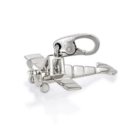 Cartier 18K White Gold Airplane Charm