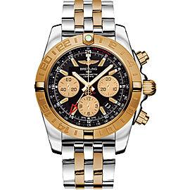 Breitling Chronomat Stainless Steel & 18K Rose Gold 44mm Mens Watch
