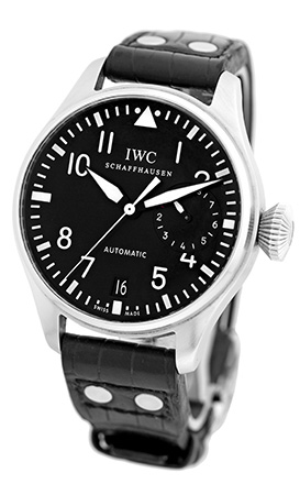 "Image of ""IWC Big Pilot Stainless Steel Strapwatch Mens Watch"""