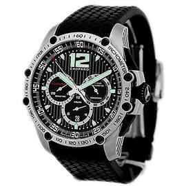 Chopard Classic Racing Superfast Chronograph Stainless Steel Strap Mens Watch