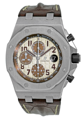 "Image of ""Audemars Piguet Royal Oak Offshore Safari Stainless Steel Automatic"""
