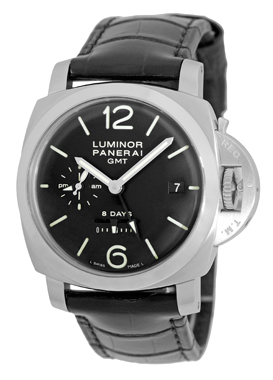 """Image of """"Panerai PAM 233 Luminor Stainless Steel & Leather Manual 44mm Mens"""""""