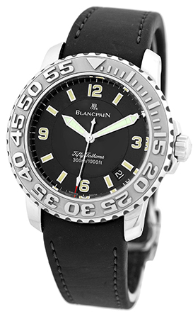"Image of ""Blancpain Fifty Fathoms Diver Stainless Steel & Rubber Automatic"""