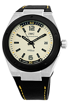 "Image of ""IWC Ingenieur Climate Action IW 3234-02 Stainless Steel 44mm Watch"""