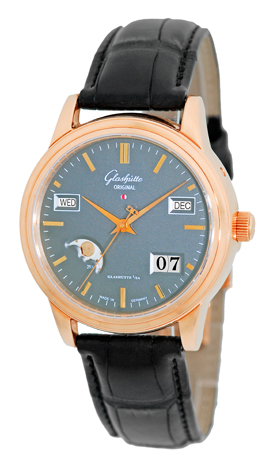 "Image of ""Glashutte Original Senator Perpetual Calendar Automatic 18K Rose Gold"""