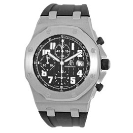 Audemars Piguet Royal Oak Offshore Chronograph Stainless Steel Strap Watch