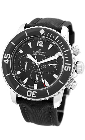 "Image of ""Blancpain Fifty Fathoms Flyback Stainless Steel Automatic 45mm Mens"""