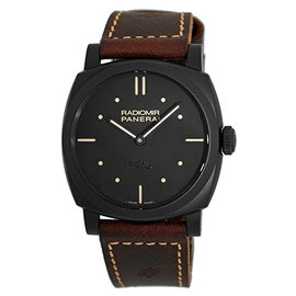 Panerai Radiomir PAM00577 Black Ceramic 48mm Mens Watch
