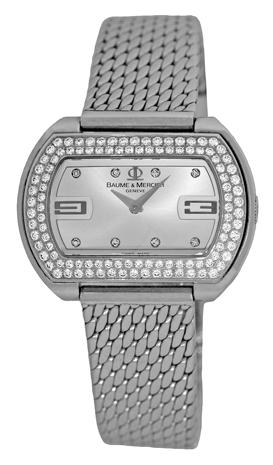 "Image of ""Baume & Mercier Diamond Hampton Acier Moa08346 Stainless Steel 32mm"""