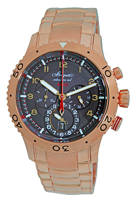 """Image of """"Breguet Type Xxii 3880Br/z2/rxv 18K Rose Gold Automatic 44mm Mens"""""""