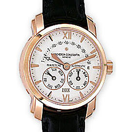 Vacheron & Constantin Malte 31 Day Retrograde Perpetual Calendar 18K Rose Gold Mens Watch