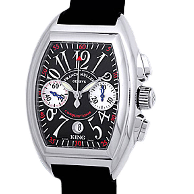 """Image of """"Franck Muller Conquistador King Chronograph Stainless Steel Mens"""""""