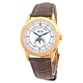 Patek Philippe Annual Calendar 5396 18K Rose Gold Strap Mens Watch