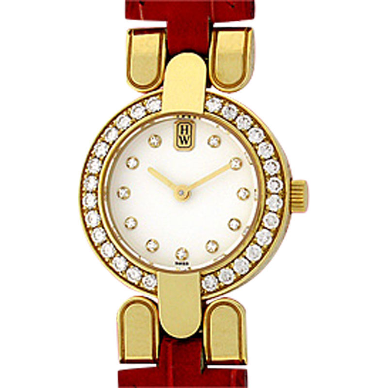"Image of ""Harry Winston 18K Yellow Gold Strapwatch Womens Watch"""