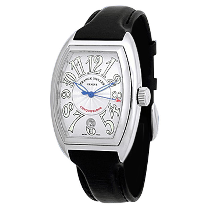 "Image of ""Franck Muller Conquistador Stainless Steel Mens Strap Watch"""