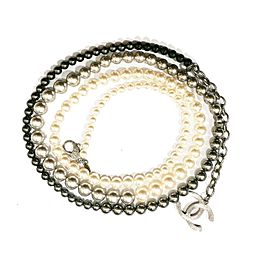 Chanel Ombre Pearl Necklace