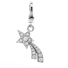 Chanel Comete 18K White Gold Diamond Shooting Star Charm