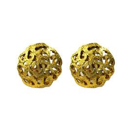 Chanel Gold-Tone Earrings