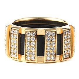 Chaumet 18K Yellow Gold & Diamond Ring Size 48