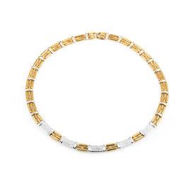 Chimento 18K Multi-Tone Gold & Diamond Link Necklace