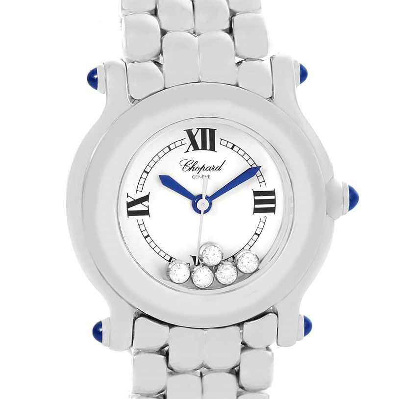 "Image of ""Chopard Happy Sport 27-8250 Stainless Steel Quartz 26mm Womens Watch"""