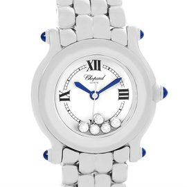 Chopard Happy Sport 27-8250 Stainless Steel Quartz 26mm Womens Watch