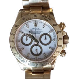 Rolex Daytona Yellow Gold 40mm Watch