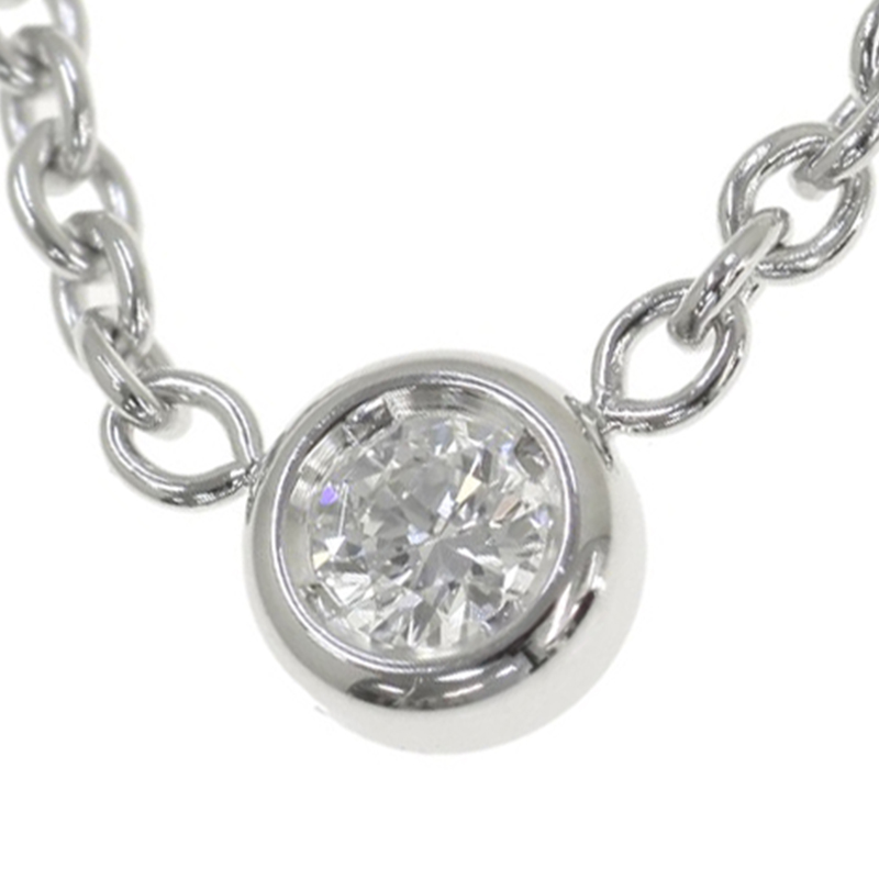 "Image of ""Christian Dior 18K White Gold Diamond Necklace"""
