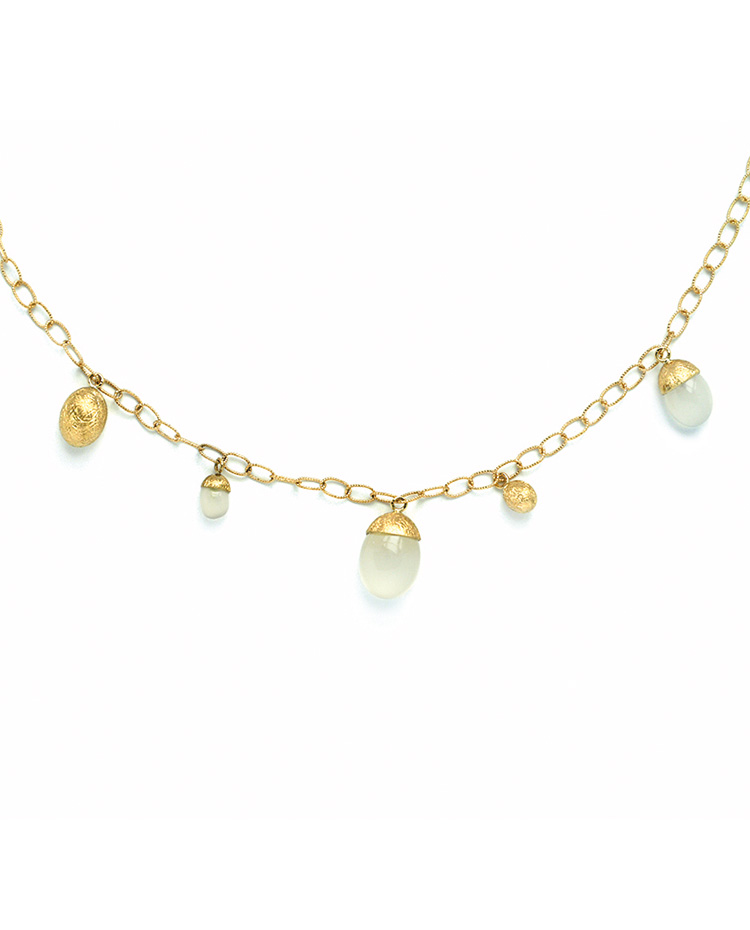 "Image of ""Dancing in the Rain Gold 18kt Necklace"""