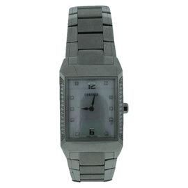 Concord Carlton Stainless Steel Diamond Unisex Watch