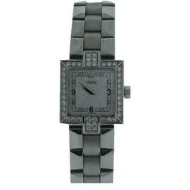 Concord La Scala 18K White Gold Diamond Watch