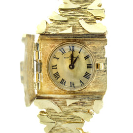 Baume & Mercier 14k Yellow Gold Ladies Watch