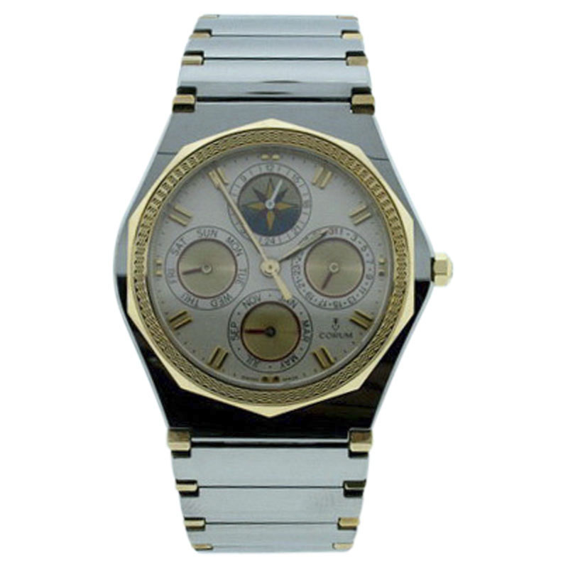 """Image of """"Corum Admirals Cup Stainless Steel 34mm Mens Watch"""""""