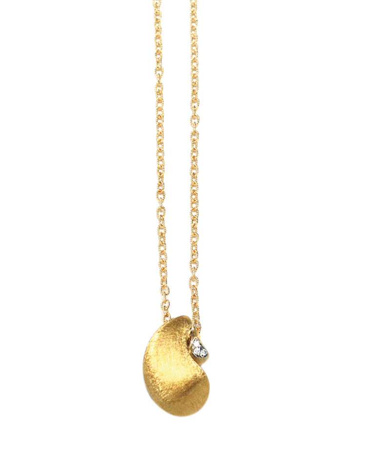 "Image of ""Cachemire Gold 18kt Necklace"""